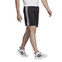 Черные спортивные шорты с белыми вставками