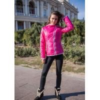 Ярко-розовая демисезонная куртка