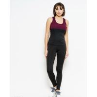 Черно-фиолетовый майечный спортивный костюм