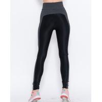 Черные с темно-серыми вставками спортивные штаны