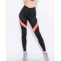 Черные спортивные штаны с розовыми вставками