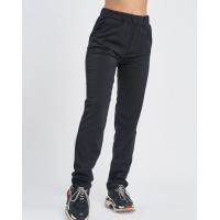 Черные штаны с карманами выполненные из трикотажа